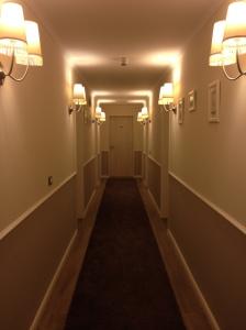 Bereich zu den Zimmern, mit Teppich!!!!!!! Stille;)